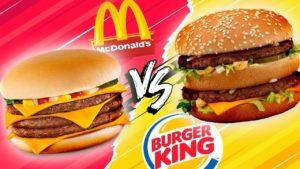 Бургер Кинг или Макдоналдс