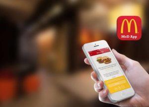 приложение Макдоналдс